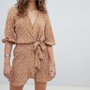 Free People Clara tie-front tunic NWOT